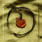 Fox love you pendant by Squirrel-slayer