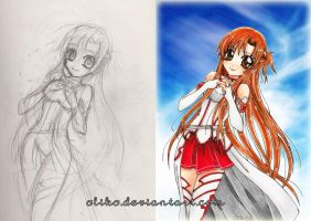 Asuna- the making of by oliko