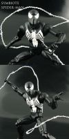 Symbiote Spiderman 2012 by Jin-Saotome