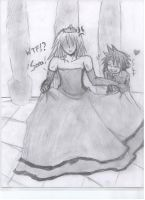 Riku in a Dress by DevilishxUke