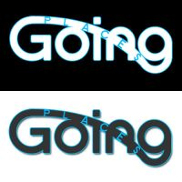 Going places logo by atomiccc