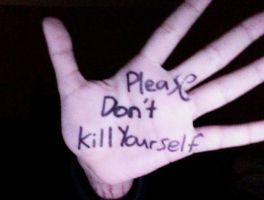 Please Don't Kill Yourself by RLE16