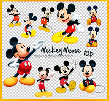 PNG / Mickey mouse 10P by Meyiing