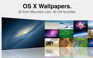 OS X Wallpapers by MrWhiteEye
