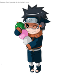 obito loves his dango~ by itasasu2002