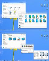 Blue memory2 IconPack Installer by alexgal23