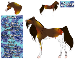 MT Horse I-019 for LithiumCyanide by 11IceDragon11