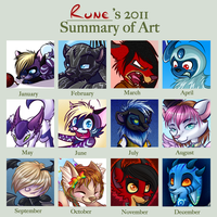 2011 Summary of Art by AttackTheMap