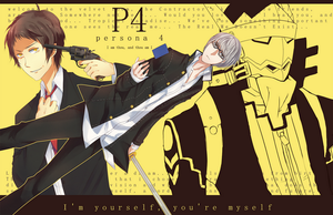Persona 4: I'm yourself you're myself by Saiko-Akarui