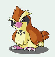 Pkmn - Orville, my Pidgey by Fluna