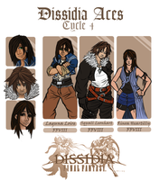 Dissidia Aces Cycle 4 Application by White--Whiskers