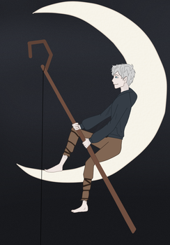 The Man on The Moon by iToriiii