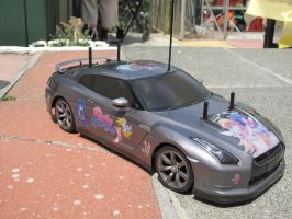 Panty and Stocking Nissan GT-R 9 by DenWingZero