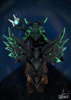 The Harbinger Comes (Outworld Devourer) (DOTA 2) by TRDP90