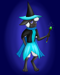 I will cast spell on you (art trade) by Tomek1000
