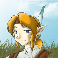 Link in a tribe by Almiux19