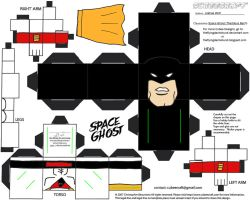 LCBH9: Space Ghost Cubee by TheFlyingDachshund