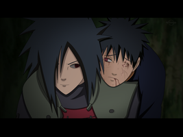 Madara And Obito (600) by Axcell1ben