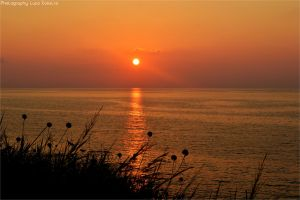 Sunset in Calabria by Luks85
