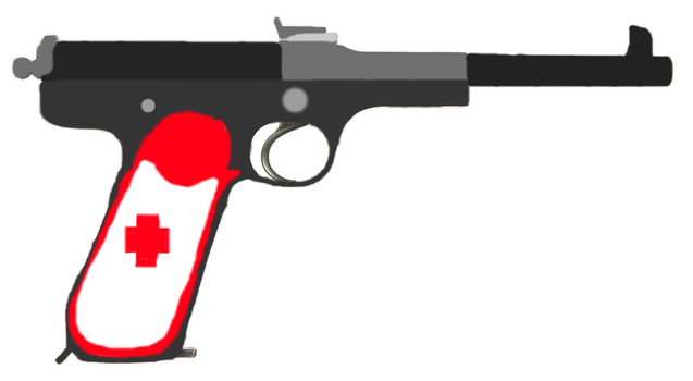 Surgeon's Pistol by The-Ironwing-Kaiser