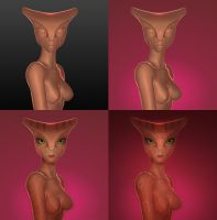 Alien Bastet by Savtsov