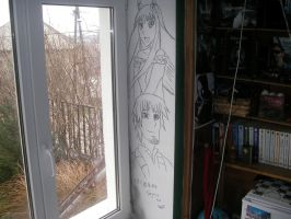 Spice and Wolf Room Decoration #1 by Nero11x