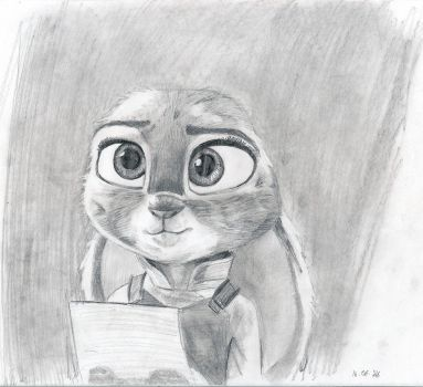 Judy - Zootopia by Ametiste