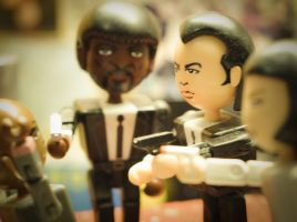 Pulp Fiction Toy by enerv