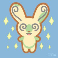 Shiny Spinda Sparkles by Cappies