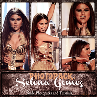 Photopack Selena Gomez by SmilePhotopacksAndT