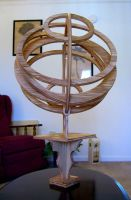 Armillary Sphere by Recycled-Oxygen