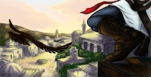 Altair : Point of view in Damascus by Shaya-Fury