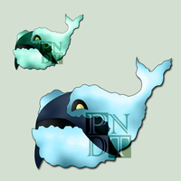Fakemon ORCLOUD by psychonyxdorotheos
