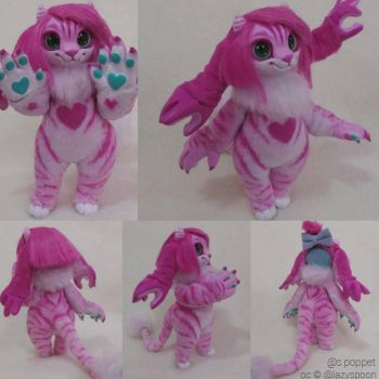Poseable Artdoll Commission: Razz  by SPoppet