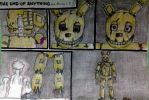 FNAF 3 Comic: THE END OF ANYTHING ( part 24) by SammfeatBlueheart