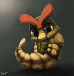 Daily 5 - Caterpie (35 Minutes) by Cryptid-Creations