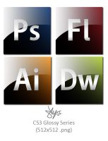 CS3 Glossy Series by sly55