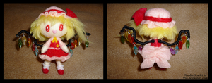 flandre scarlet plushie by 95n