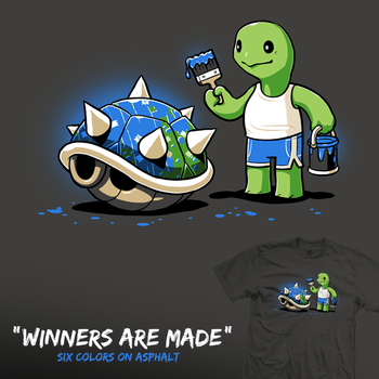 Winners Are Made - tee by InfinityWave