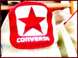 CONVERSE red by mobber
