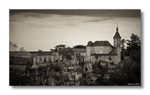 Rocamadour by TiClown