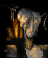 My guild wars Ele by Lmih