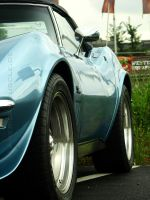 iceblue corvette c3 by AmericanMuscle