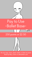 Pay To Use Base {Ballet} 250pts or $2.50 by Koru-ru
