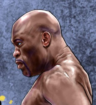 Anderson The Spider Silva Unleashed close view by Bardsville