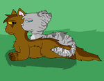 Briarlight and Jayfeather by HollyofStars