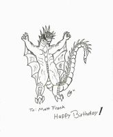 Varan for Matt Frank's Birthday by Hedorah1971