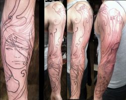 Jelly fun lines by GooseTattoo