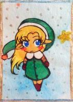 Christmas ACEO-card by LyriaLy