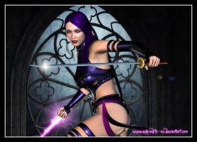 Psylocke by Aphrodite-NS